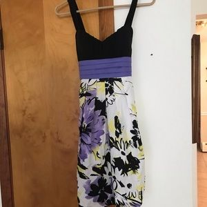 Mini dress for graduation or cocktail party